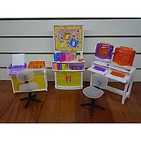 """Мебель """"Gloria"""" 21022 для компьютерного класса,стулья,доска,принтеры,трафареты,в кор. 31*17"""