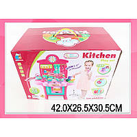 """Набор """"Кухня"""" 3830-19 газ. плита, духовка,посуда в кор. 42*26*30 см"""