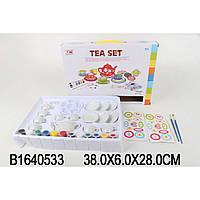 """Набор для творчества 1402-B """"Чайный сервиз"""", краски,наклейки, в коробке 38*6*28 см"""