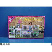 """Мебель """"Gloria"""" 9876 для сада,скамейка,цветы…,в кор. 30*19*5 см"""