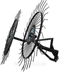 Грабли ворошилки Солнышко для мотоблока, мототрактора на 2 колеса Полтава