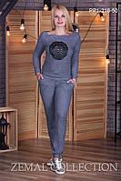 Женский спортивный костюм больших размеров ПП1-216 (р.44-54) , фото 1
