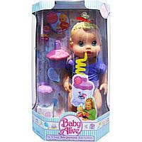 """Кукла функц """"BABY ALIVE"""" 28002-B может пить через трубочку,задувать свечку,в кор. 23*13*36 см"""