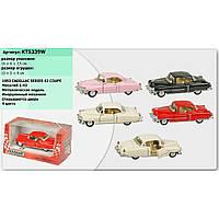 "Машина метал. ""Kinsmart"" KT5339W ""Cadillac Series 62 Coupe 1953"" в кор. 16*8,5*7,5 см"