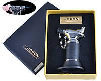 Зажигалка газовая Горелка для пайки Jobon Турбопламя, автоген