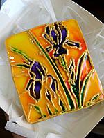 Лучший подарок на 8 марта - витражный медовый имбирный пряник