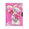 Блокнот с замочком и ключиком 64002 Мишки