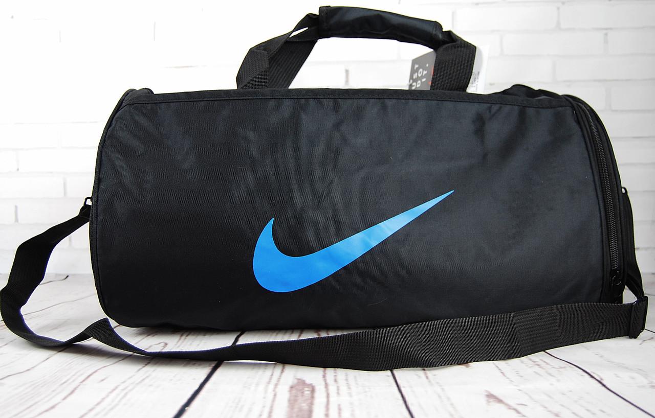 2df48c146fb3 НЕБОЛЬШАЯ спортивная, дорожная сумка NIKE с отделом для обуви. Сумка Найк.  КСС2-