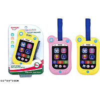 "Музыкальная игрушка 789-1 батар,""Телефон"", мелодии, звуки,на планшетке13,2*8*3 см"