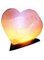 Соляная лампа Сердце