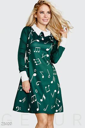 """Короткое платье """"Ноты"""", фото 2"""