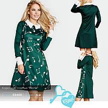 """Короткое платье """"Ноты"""", фото 3"""