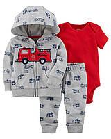 Комплект с кардиганом пожарная машина Carter's для мальчика