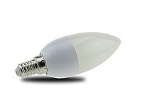 Светодиодная лампа LM777 C37 E14 8W 6400K , фото 1
