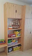 Шкаф с полками в детскую комнату