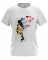 """Стильная мужская футболка """"MODERN GIRL"""" (MF-94-15)"""