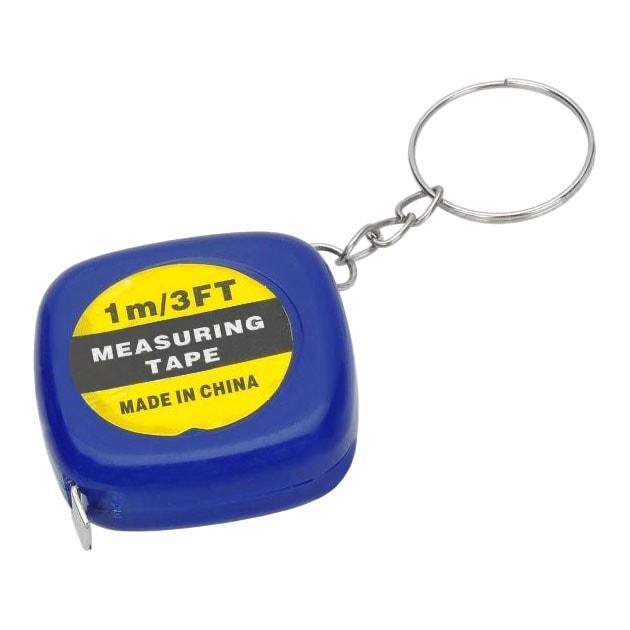 Мини рулетка брелок для ключей (длина рулетки 1м)