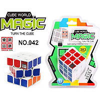 Кубик Рубика 042 с таймером, на блистере