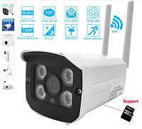Копия Беспроводная 1мп 720 WI-FI IP камера видеонаблюдения с фокусным расстоянием 3,6мм, SD карта до 64гб