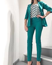Костюм женский тройка пиджак брюки топ