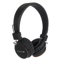 Наушники Bluetooth HF Gelius Pro GL-W2 (mic, buttons control, micro  SD, FM) Black