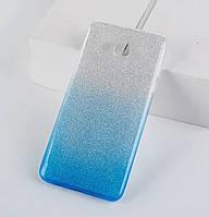 Чехол-накладка TOTO TPU Case Rose series Gradient для Samsung Galaxy J7 (2016) SM-J710F Silver / Blue