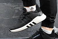 Мужские кроссовки Adidas Equipment ADV 91-17 Черные с белым (белая надпись), фото 1