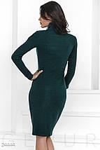 Трендовое трикотажное платье, фото 2