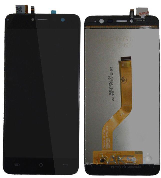Дисплей (LCD) Cubot Note Plus с сенсором чёрный
