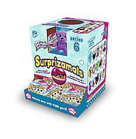"""Мягкая игрушка-сюрприз в шаре SURPRIZAMALS S6 (15 видов в ассорт., в дисплее с """"окошком""""), фото 1"""
