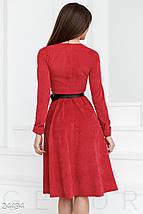 Вельветовое ретро платье, фото 3