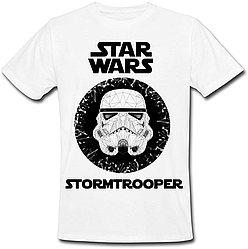 Футболка Star Wars - Stormtrooper (белая)