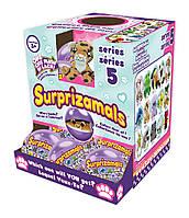 """Мягкая игрушка-сюрприз в шаре SURPRIZAMALS S5(15 видов в ассорт., в дисплее с """"окошком"""")"""