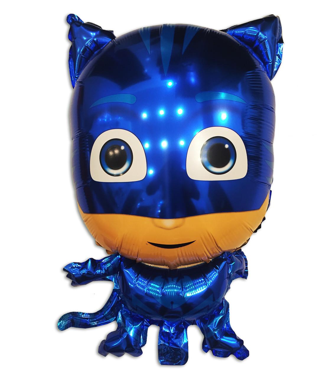 Фольгированный шар Cat boy Герои в масках, 68×44 см