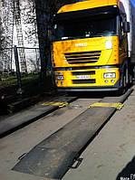 Автомобильные подкладные весы для еврофур АКСІС 15-П Д (15т на ось)