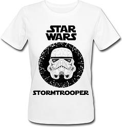 Женская футболка Star Wars - Stormtrooper (белая)