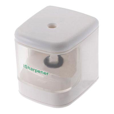 USB электроточилка для карандашей с подсветкой на батарейках