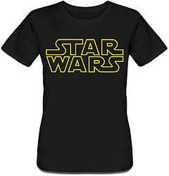 Женская футболка Star Wars (logo)