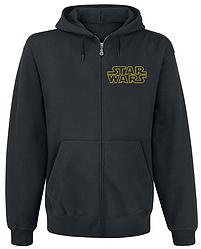 Толстовка с молнией Star Wars - Yellow Logo