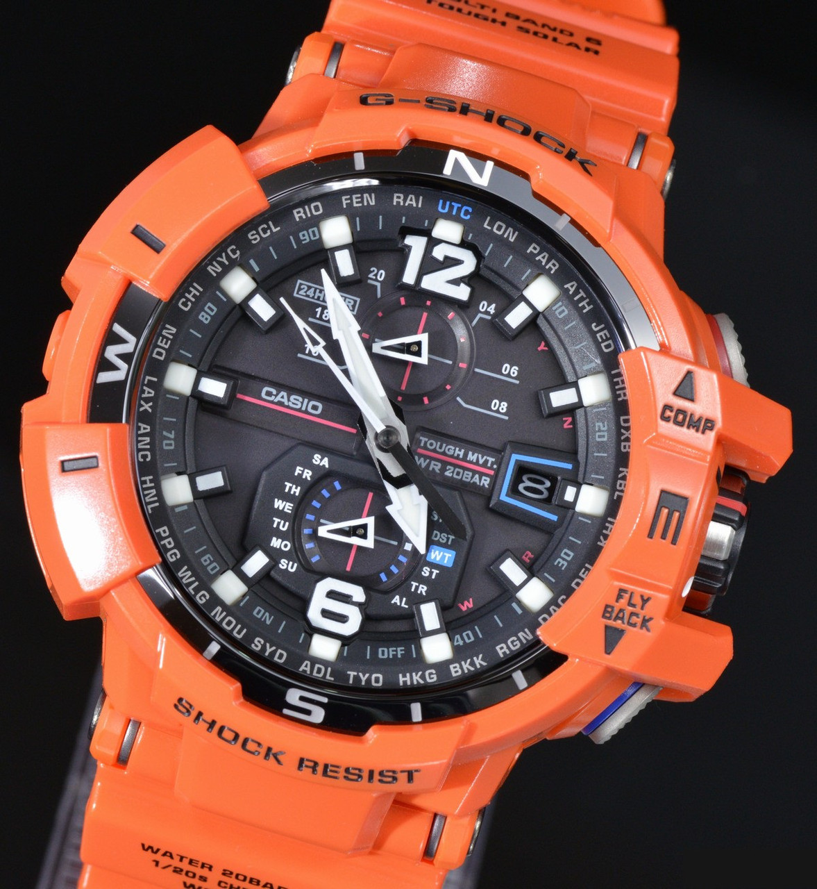Часы Casio G-Shock GW-A1100R-4A Gravity Master B.