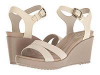 Сандалии , босоножки Crocs Leigh Ankle Strap Wedge р. 41-42