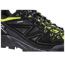 Мужские кроссовки Salomon X ALP GTX (379266) черные кожаные, фото 2