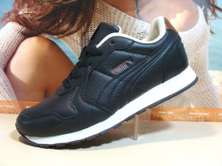 Мужские кроссовки Puma RX (реплика) черно-белые 43 р.