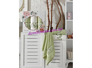 """Подарочный набор полотенец """"Rosalinda""""(баня 1 шт., лицо 2 шт.)  TWO DOLPHINS, Турция 0127"""