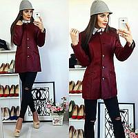 Кардиган женский, модель 03, цвет - бордо