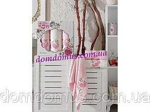 """Подарочный набор полотенец """"Rosalinda"""" (баня 1 шт., лицо 2 шт.) TWO DOLPHINS, Турция 0126"""