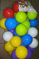 Шарики 02-417 d8см, 40шт, шарики для сухого бассейна