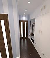Дизайн-проект интерьера - коридор + шкаф