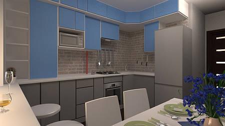 Дизайн-проект интерьера - кухня buch