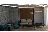Дизайн-проект интерьера - гостиная WS